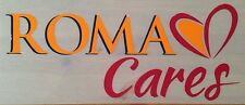 2013-15 come ROMA ROMA CARES UFFICIALE STILSCREEN AWAY FOOTBALL SHIRT logo dello sponsor