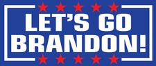 """Let's Go Brandon Autocollant - Voiture Vinyle Décalque Fjb Anti Joe Biden 7 """" x"""