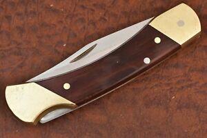 MASTER MECHANIC by SCHRADE USA SMOOTH WOOD JUMBO LOCKBACK KNIFE MML7 (7179)