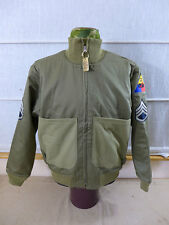 "Eu48 ""Fury"" US VINTAGE CUSTOM MADE petroliere Jacket Giacca campo jeep carri armati Giacca"