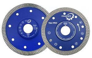 Porcelain Tile Turbo Thin Diamond Dry Cutting blade/Disc Grinder wheel 115/125mm