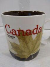 NEW 2012 STARBUCKS Collector's Mug. CANADA 16 Fl Oz. Brown