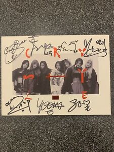 CLC CRYSTYLE 5th Mini Album Signed MWave Exclusive (Photocard Included)