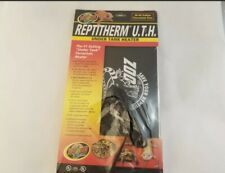 "New listing ReptiTherm Uth Mat Heater 30-40 Gallon Reptile Terrarium 8"" x 12"" Heating Pad"