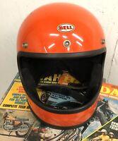 Vintage Bell Star 120 Toptex Motorcycle Helmet Size 7-1/2