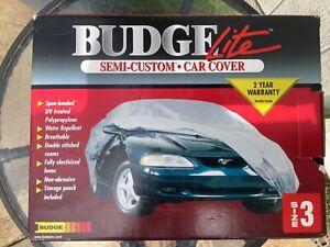 "BUDGE INDUSTRIES LITE CAR COVER, SIZE 3: 200""L x 60""W x 51""H *DM"
