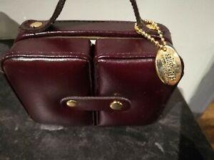 Vintage Salisbury's Leather Traveling Jewellery Box