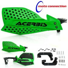 ACERBIS X-ULTIMATE GREEN / BLACK HANDGUARDS KAWASAKI KX85 KX 85 MOTOCROSS