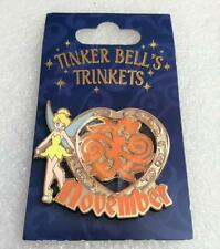 Disney Tinker Bell's Trinkets Birthstone November 2013 Limited Release Pin