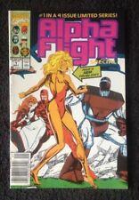*KEY COMIC* ALPHA FLIGHT ANNUAL # 1 DEATH OF GILDED LADY Newsstand (Marvel 1986)