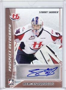 2016-17 Leaf ITG Heroes & Prospects ~ Stuart Skinner PA-SS1 Bronze ~ Autograph
