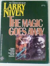 THE MAGIC GOES AWAY. LARRY NIVEN. GRAPHIC NOVEL