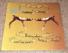 ISAAC BROCK SIGNED MODEST MOUSE NASTY PARLOUR TRICKS ALBUM w/EXACT PROOF