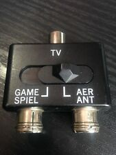 RF Aerial Switch Box - Sega Megadrive / Master System / Nintendo NES / SNES