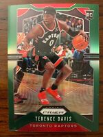 Terence Davis RC 2019-20 Chronicles Green Prizm Update Rookie #509 Raptors RARE