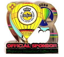 """WARSTEINER BALLON Pin / Pins - ALBUQUERQUE IBF 2008 """"OFFICIAL SPONSOR"""""""