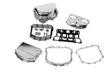 CUSTOM CHROME BILLET PANHEAD STYLE ROCKER COVERS SET HARLEY TWIN CAM 1999-2014