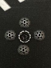 PJ178 Tibetan Silver Charm Spacer Beads Pendant accessories wholesale