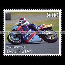 ★ SITO PONS (HONDA NSR 500 1988) GP ★ TADJIKISTAN Timbre Moto Motorcycle #341