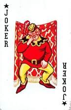 Joker Single Swap Playing Card Vintage