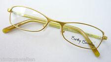 Betty Barcley neongrün Metall Designer Gestell  Damen Brille schmal Grösse M