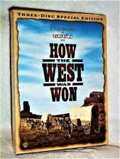 How the West Was Won (DVD, 2008, 3-Disc, Special Edition) James Stewart western