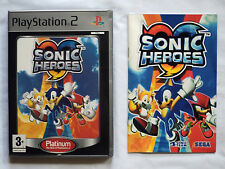 Sonic Heroes - No Game - Case & Manual only Playstation 2