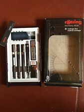 rOtring S0699380 Isograph Technical Drawing Pens, Set, 3-Pen College Set .25-50