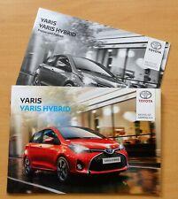 195) Auto Prospekt 2016 Toyota Yaris & Yaris Hybrid Lounge Style + Preise Fakten