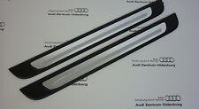 Original Audi Sill Audi A1, 2-parts, Ziereinlage Aluminium