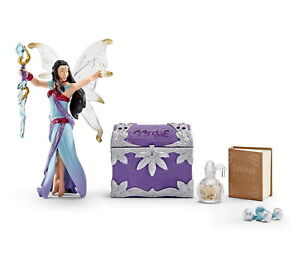 Boxset Schleich Bayala 42171 Witch Elf With Accessories Magic New IN Box