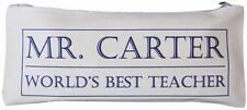 Personalizzata-World's Best insegnante matita caso-SCATOLA di design