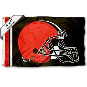 Cleveland Browns Big 4x6 Foot Flag