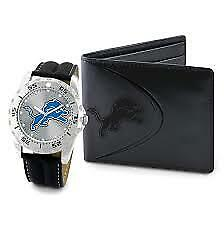 NFL Detroit Lions Watch & Wallet Gift Set ** NEW **