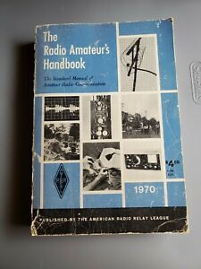vintage 1970 THE RADIO AMATEUR'S HANDBOOK softcover book 47th edition HAM RADIO