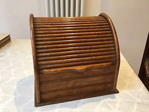 Vintage Table Top Oak  BUREAU Letter Rack & Desk Organiser
