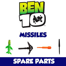 Ben 10 Spare Parts - Missiles / Launchers / Bullets / Rockets for Cars / Figures