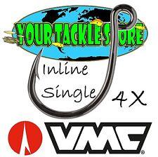 Vmc Ils Inline Single 4X Coastal Black Saltwater Factory Direct Pick Size & Qty