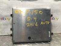 2007 FORD F150 5.4 2WD AUTOMATIC  ecm ecu computer P/N 7L3A-12A650-FYD