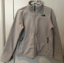 North Face Womens Khumbu Jacket Sz L Lunar Ice Grey Fleece Full-Zip Polartec NEW