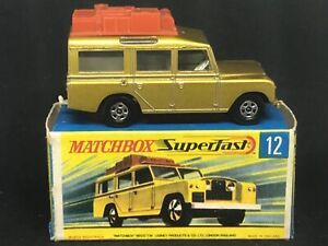 Matchbox Superfast MB12 A2 Land Rover Safari with Type G Box