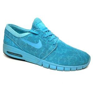 Nike Air Max Stefan Janoski Gamma Blue 631303-114 Men 12 M Skateboarding Shoes