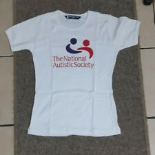National Autistic Society T-Shirt. One Size. Size 8 to 10