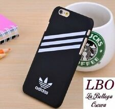 COVER NERA/BLACK ADIDAS IPHONE 7 - 7S RIGID CASE FASHION SPORT SHOES MARK