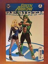 Dc Green Arrow Rebirth # 1 (1st Print) Variant