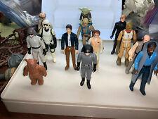 Vintage Star Wars U PICK FIGURE ORIGINAL LUKE,YODA,LEIA,PRUNE,LILI LEDY, READ