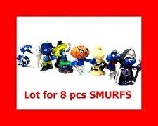 Lot 8 Schleich Halloween Smurfs Figures spirit pumpkin free shipping