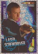 "Doctor Who Alien Armies - ""Laser Screwdriver"" Glitter Foil Card G10"