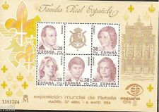 Spain  Edifil # 2754 ** MNH Expo Filatelica ESPAÑA 84 Familia Real