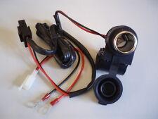Bike-it 12 voltios de encendedor de cigarrillos Socket, montado en el manillar toma de corriente